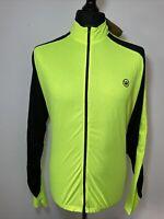 Canari Zoom Killer Neon Yellow Cycling Jersey Long Sleeve Shirt XXL TAGGED