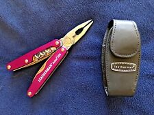 LEATHERMAN Juice XE6 78105003K Multi-Tool Thunder Purple Sheath NEW RARE RETIRED