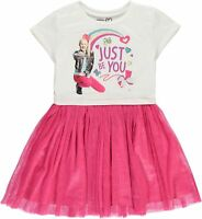 JoJo Siwa Girls' Tutu Dress with Tulle Skirt - Nickelodeon