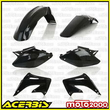 KIT PLASTICHE CARENE CARENATURE ACERBIS NERE PER HONDA CR 125 250 R 2002 2003