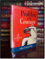 Profiles in Courage by John F. Kennedy ✍SIGNED✍ by BARACK OBAMA YR Hardback