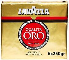 Lavazza - Caffè Macinato Qualità Oro 6x250 gr