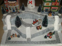 Christmas Village Display Platform J30 For Lemax Dept 56 Dickens + More