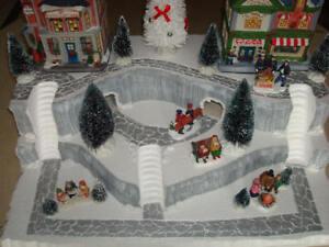 Christmas Village Display Platform J30 For Lemax Dept 56 Dickens + More