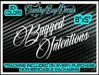 Pssst  Air Ride Bagged Truck Car  s10 C10 Vinyl Window Decal Sticker 4 link