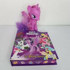 My Little Pony The Movie My Busy Books Storybook 12 Figurines Playmat w Twilight