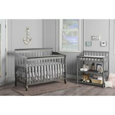 Dream On Me Ashton Convertible 5-in-1 Crib in Storm Grey