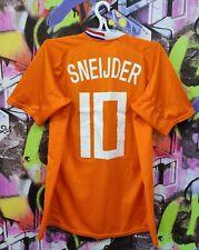 Netherlands Soccer National Team Sneijder #10 Football Jersey Top Replica Mens L