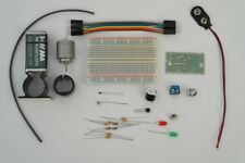 Basic Beginners Electronics Prototyping Breadboard Kit - Transistor Switch Kit