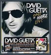 DAVID GUETTA ONE MORE LOVE - 2 CD DELUXE LIMITED EDITION F.C. SIGILLATO!!!