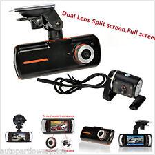 "1080P Dual Lens HD 2.7"" CCTV Car DVR Accident Dash Cam Camera Video Recorder Kit"