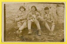 cpa France Carte Photo MILITAIRES SOLDATS du 141e Régiment Chien