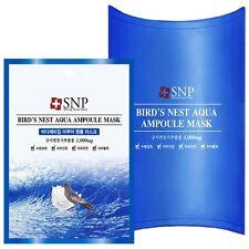 [SNP] Bird's Nest Aqua Ampoule Mask  1pack(10pcs) / Korea Cosmetics