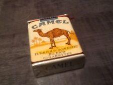 """ancien Paquet de cigarette plein""""camel us army annee 50"""" collection uniquement"""