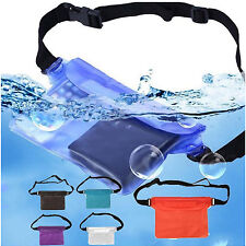 Waterproof Underwater Waist Pack Belt Beach Swimming Dry Bum Bag Phone Pouch