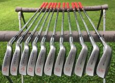Dunlop Fuzzy Zoeller Irons 2-LW, 431 Stainless, Fair Condition, Mens Right Hand