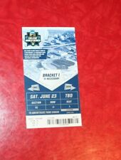 2018 COLLEGE WORLD SERIES CWS GAME 13 TICKET OREGON STATE - MISSISSIPPI STATE