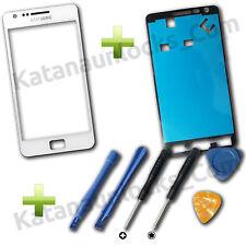 Cristal de pantalla Samsung Galaxy S2 i9100 Blanco con Herramientas