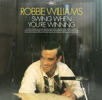 "ROBBIE WILLIAMS ""SWING WHEN YOU'RE WINNING"" LP VINYL NEW!"