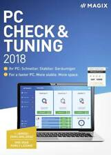 MAGIX PC Check/Tuning 2018 Improve performance speed and space. Family license!