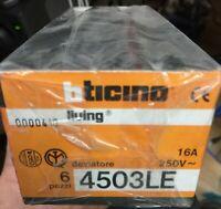 BTICINO A5702 DIMMER CON DEVIATORE CON FUSIBILE INCORPORATO 60500W COLORE AVORIO