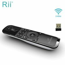 Original Rii Mini i7 2.4Ghz Wireless Mini Gaming Fly Air Mouse Remote Control