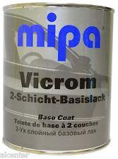 MIPA VICROM Basecoat Chromelack Felgenlack Effektlack Chromlack 1ltr.