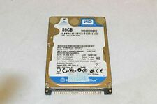 HARD DISK 80GB WESTERN DIGITAL WD800BEVE-00A0HT0 - PATA IDE 2,5 5400rpm