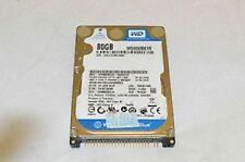 HARD DISK 80GB WESTERN DIGITAL WD800BEVE-00A0HT0 - PATA IDE 2,5 5400rpm