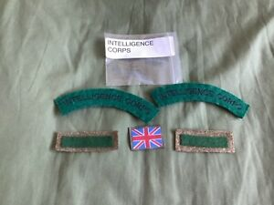 Royal intelligence Corps shoulder titles & arm of service flashes