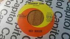 Ned Miller – Teardrop Lane / Lorraine ~ (VG++)