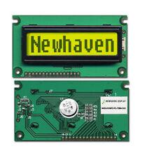 LCD Character Display 1x8 Yellow-Green Backlight