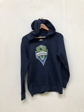 Majestic Seattle Sounders Women s MLS Club Hoodie - Medium - Navy - New c3a4ca184