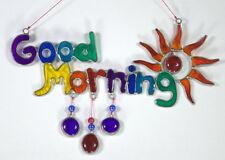 GOOD MORNING Sunshine rainbow mobile suncatcher, Free Shipping