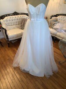 #339 Watters 2 Piece Wedding Gown Sz2 NWT.