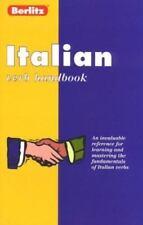 Berlitz Italian Verb Handbook (Berlitz Language Handbooks) (Italian-ExLibrary