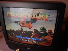 "Panasonic PV-M2059 20"" CRT Color TV/VCR VHS Combo 20 inch Fm Radio Omnivision"