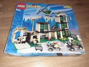 LEGO POLICE STATION SET 6332 IN BOX