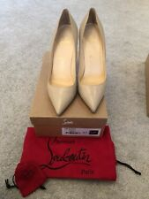 Louboutin Pigalle 100 Kid Nude 39.5