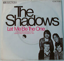 "[F251] 7""SINGLES THE SHADOWS LET ME BE THE ONE - STAND UP LIKE A MAN- ELECTROLA"