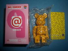 "Medicom Bearbrick Series 9 Pattern Yellow ""Eames"" Be@rbrick"