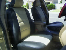 DODGE NEON 2000-2005 IGGEE S.LEATHER CUSTOM FIT SEAT COVER 13 COLORS AVAILABLE