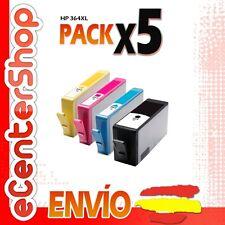 5 Cartuchos de Tinta NON-OEM HP 364XL - Photosmart Wireless B110 e