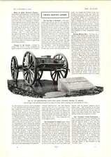 1902 Gun Carriage Bearing Queen Victoria's Remains