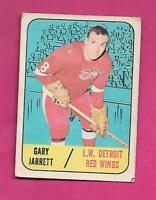 1967-68 TOPPS # 44 WINGS GARY JARRETT ROOKIE GOOD CARD (INV# C3117)