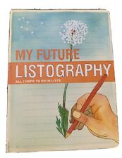 My Future. Listography. New. All I Hope To Do. By Lisa Nola