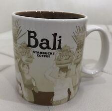 Indonesia Starbucks Bali City Mug Global Series 16 oz with SKU Authentic
