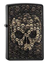 ZIPPO Benzin Feuerzeug Skulls In Skull 2005334 NEU OVP