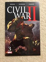 Civil War 2 II #3 Hulk Dies Becomes Immortal MARVEL Comics First Print NM/M 2016