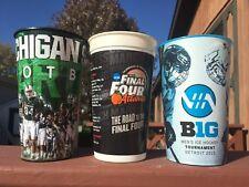 Michigan Road Game Stadium Cups
